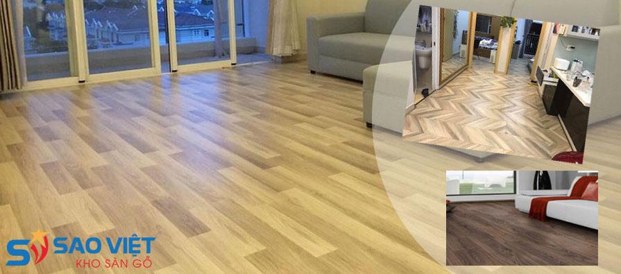 Sàn gỗ công nghiệp cốt xanh chống ẩm