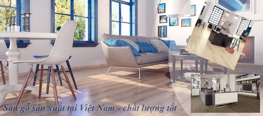 Sàn gỗ Việt Nam chất lượng tốt