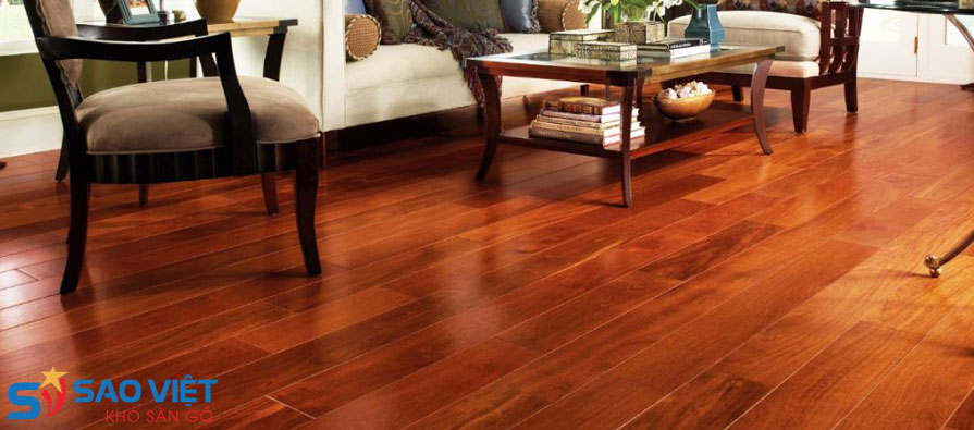 Sàn gỗ tự nhiên mang nét đẹp cổ điển truyền thống
