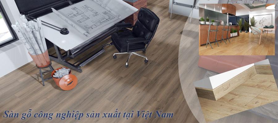 Sàn gỗ sản xuất tại Việt Nam