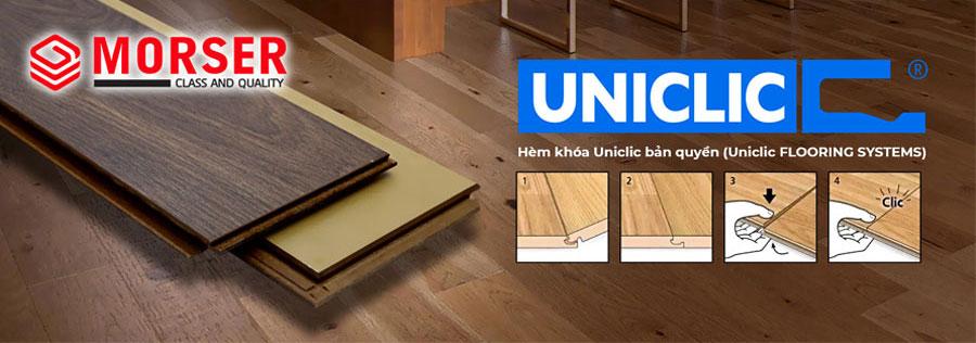 Sàn gỗ công nghiệp Morser Việt Nam