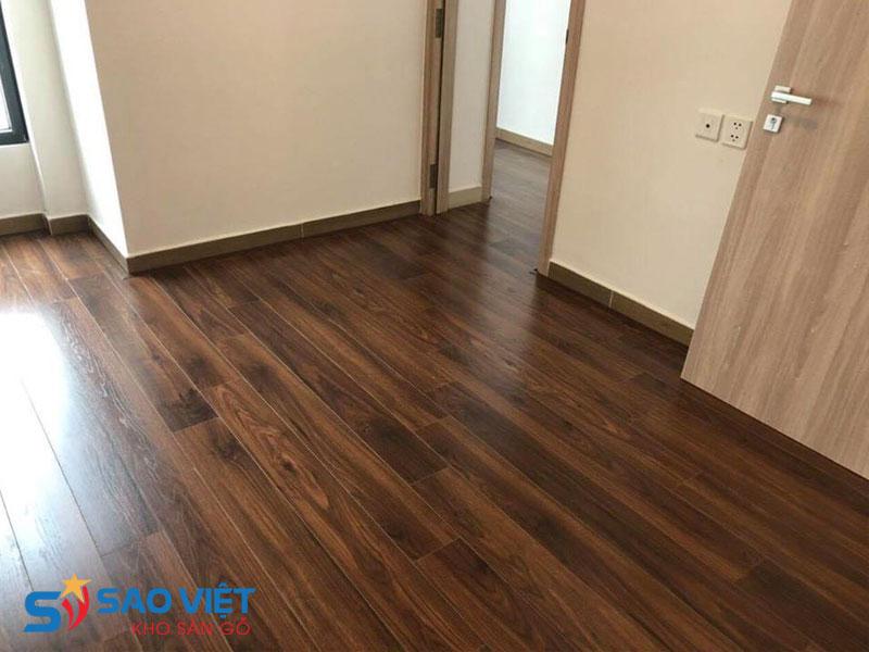 Sàn gỗ cốt đen chịu nước