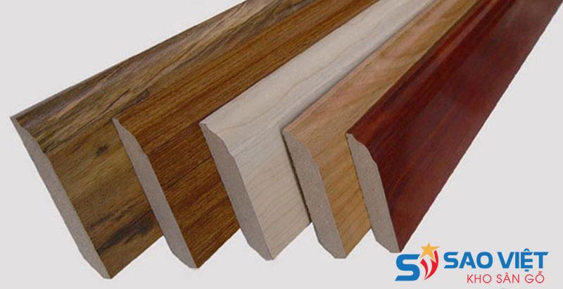 Phào gỗ chân tường Laminate