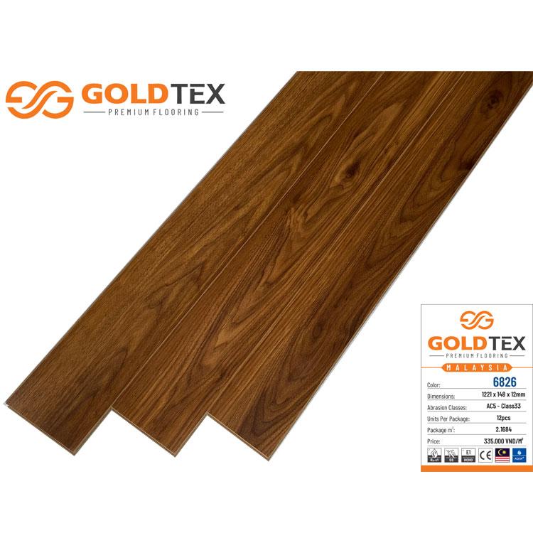 Sàn gỗ Goldtex 6826